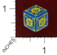 Dice : MINT43 TINDERBOX ENTERTAINMENT DICE EMPIRE SERIES 1 LIGHTNING BOLT