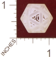 Dice : MINT28 SHAPEWAYS MCTRIVIA PIPED D20 01