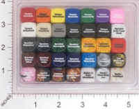 Dice : MINT16 CHESSEX 16MM D6 COLOR REFERENCE PACK 01