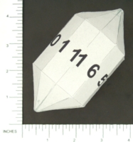 Dice : PAPER D11 MY DESIGN ELONGATED HENDECAGONAL DIPYRAMID