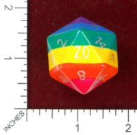 Dice : MINT46 AROC GAMING RAINBOW PRIDE