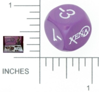 Dice : NON NUMBERED OPAQUE ROUNDED SOLID COMPONENT GAME SYSTEMS XENA THE WARRIOR PRINCESS THE BOARD GAME 01