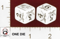 Dice : MINT24 Q WORKSHOP MUNCHKIN BOOTY D6 DICE 01