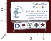 Dice : MINT44 BATTLESCHOOL BATTLEDICE NATIONALS EAST MEETS WEST PACK
