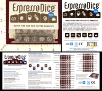Dice : MINT21 UNITED MINDS ESPRESSO DICE