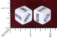 Dice : MINT46 EBAY STRANGE COMIC COLLECTOR ALIGNMENT