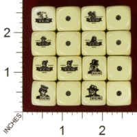 Dice : MINT32 HOMEMADE TCM TURNER CLASSIC MOVIES 01