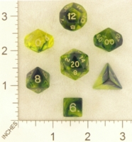Dice : MINT23 CRYSTAL CASTE FIREFLY BLUE YELLOW