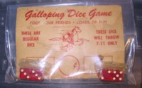 Dice : DUPS03 GALLOPING DICE