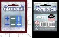 Dice : MINT46 EVIL HAT PRODUCTIONS FATE DICE FROST