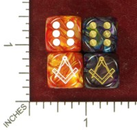 Dice : MINT49 JSPASSNTHRU MASONS