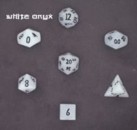 Dice : STONE MULTI CC ONYX WHITE 01