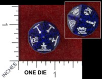 Dice : MINT48 CHESSEX MAGIC ITEM THE HORDE DIE