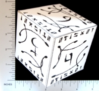 Dice : PAPER D06 Q-WORKSHOP DICE DESIGN CONTEST NOVEMBER 2007 MARCIN OSZCZYK 03 SPERM