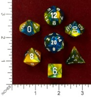 Dice : MINT46 CHESSEX 2015 POLY COLORS 04