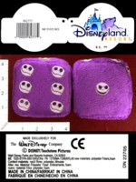 Dice : FOAM3 DISNEY NIGHTMARE BEFORE CHRISTMAS