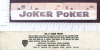 Dice : POKER CRESTLINE 01