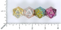 Dice : MINT57 NORSE FOUNDRY D20 WONDROUS