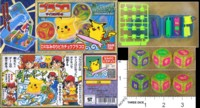 Dice : MINT38 BANDAI PRACORO BATTLE DICE DX SURFIN PIKACHU