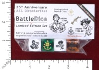 Dice : MINT45 BATTLESCHOOL BATTLEDICE 25TH ANNIVERSARY ASL OKTOBERFEST