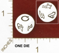 Dice : MINT26 UNKNOWN CRYSTAL CASTE RANDOM 03 BEAN