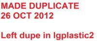 Dice : LG PLASTIC 2 D6 OPAQUE SHARP SOLID WHITE WILD IRISH ROSE 01