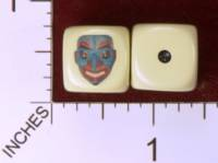 Dice : MINT29 YAK YAKS SPIRIT MASK NATIVE AMERICAN 01