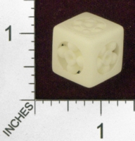 Dice : MINT25 SHAPEWAYS WILLAPUERTA BALL BEARING 6 SIDED DIE 01