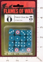 Dice : MINT27 FLAMES OF WAR DD012 FRENCH DICE 01