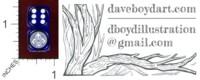 Dice : MINT43 CHESSEX CUSTOM FOR DAVE BOYD WIRETAP