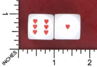 Dice : MINT52 UNKNOWN HEARTS