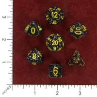 Dice : MINT50 CHESSEX BLACK EPISODE IV RECOLOR