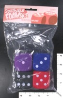 Dice : FOAM3 MINION GAMES SQUISHABLE FOAM D6 PIPPED VERSION 2