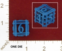 Dice : MINT24 SHAPEWAYS DIZINGOF TWISTED D6 01