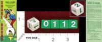 Dice : MINT33 CREATIVE SPECIALTIES OF SOUTH DAKOTA SHAKE A ROUND 01