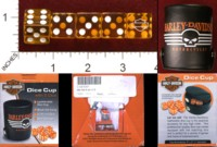 Dice : MINT34 DART WORLD INC HARLEY DAVIDSON CUP 01