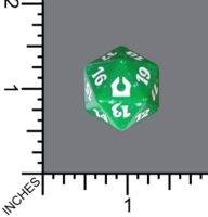 Dice : D20 MTG OPAQUE ROUNDED SPECKLED WIZARDS OF THE COAST MTG RETURN TO RAVNICA 05