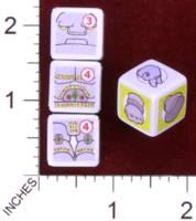 Dice : MINT30 PRINT AND PLAY PRODUCTIONS CHUNKY FIGHTERS GOLEM 01