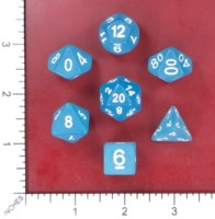 Dice : MINT53 HENGDA MANUFACTURING FROSTED BLUE