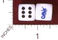 Dice : MINT32 CHESSEX CUSTOM 01 FOR KINGDOM DICE SCA KINGDOM OF ATLANTEA POPULACE BADGE 01