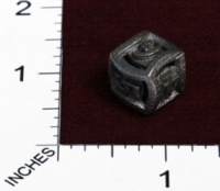 Dice : MINT23 SHAPEWAYS CERAMICWOMBAT ROUND DIE6 01 02