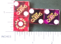 Dice : CASINO FOUR QUEENS 04