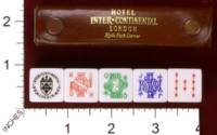 Dice : MINT29 INTER CONTINENTAL HOTEL LONDON 01