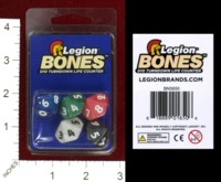 Dice : MINT42 LEGION INC BONES D10 TURNDOWN LIFE COUNTER