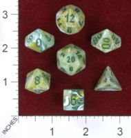 Dice : MINT40 CHESSEX 2014 POLY COLORS 01