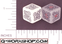 Dice : NUMBERED OPAQUE ROUNDED SOLID Q WORKSHOP MECHANICAL 01