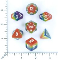Dice : MINT53 HENGDA MANUFACTURING TRANSLUCENT MULTI COLOR