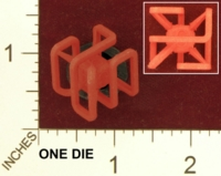 Dice : MINT26 SHAPEWAYS OBTURONIUS X DIE 01