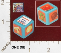 Dice : MINT28 MILTON BRADLEY READ SET SPAGHETTI 01