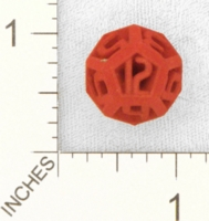 Dice : MINT25 SHAPEWAYS DIZINGOF RESONATE D12 DICE 01